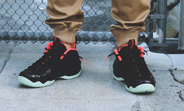 joggers with foamposite asteroid - photo #6