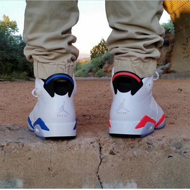 Mismatching Jordans